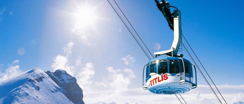 Berg Titlis, Rotair; Mountain Titlis, Rotair;